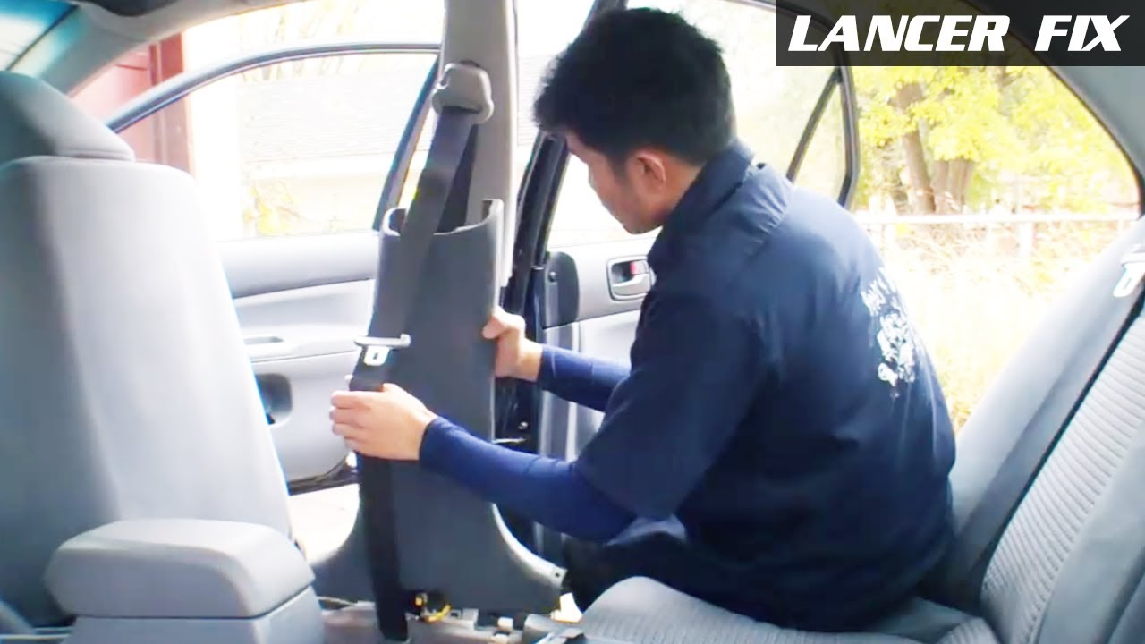 Lancer Fix 7 | Gas Cap P0442, FR Seat Belt - YouTube