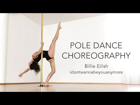 Pole Dance Choreography to Billie Eilish / Beginners Intermediate