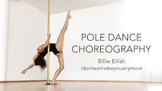 Pole Dance Choreography to Billie Eilish / Beginners Intermediate