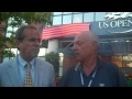 Ubaldo with Steve Flink about US Open 2010 tournament -first part-
