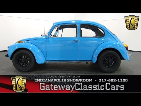 1973 Volkswagen Super Beetle #649-ndy Gateway Classic Cars - Indianapolis