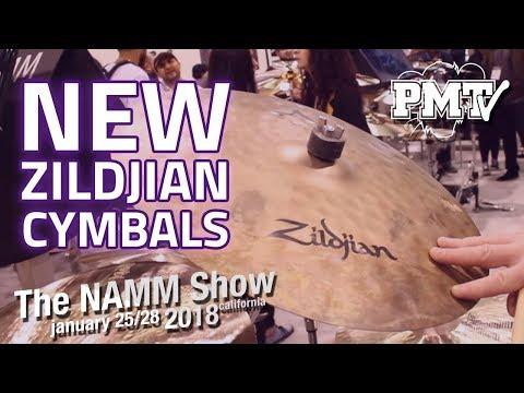 NAMM 2018 | New Zildjian Cymbals