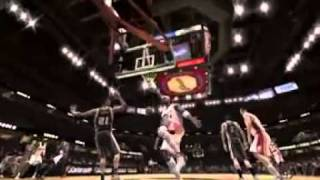 NBA LIVE 08 PS3 Gameplay  - Spurs vs. Cavaliers
