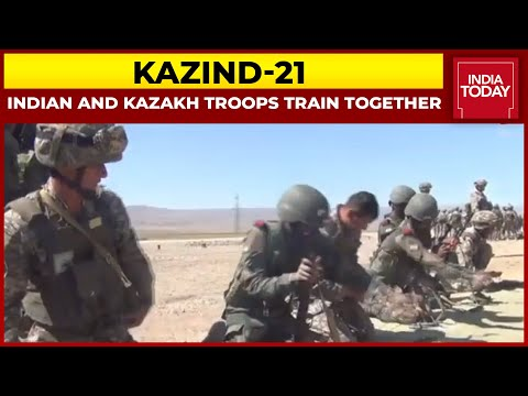 Indian And Kazakh Troops Train Together During Exercise | India Today