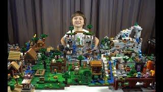 МИР МАЙНКРАФТ / MINECRAFT WORLD / САМОДЕЛКА LEGO / НУБИК МАРК