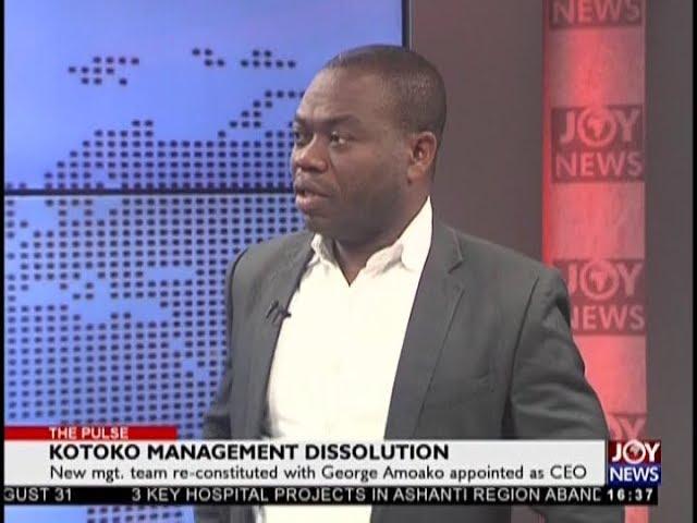 Kotoko Management Dissolution - The Pulse Sports on JoyNews (15-8-18)