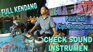 Chek sound instrument (Syahdu)... Patah hati Rhoma irama (Bisa buat karaoke)