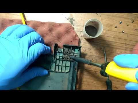 Laptop body fabrication l Hinges Repair Lenovo Ideapad