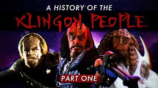 Trekspertise - A History Of The Klingon People (Part One)