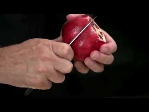 Kitchen Tips - How to Cut Open a Pomegranate