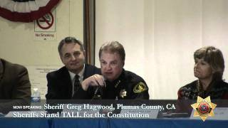 Sheriff Greg Hagwood, Plumas County CA
