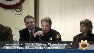 Sheriff Greg Hagwood, Plumas County CA