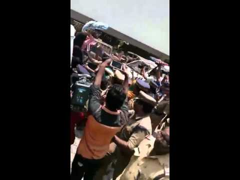 Muslim girls-Campus front protest against CBSE officer for the ban of hijab in CBSE exams part 3/3
