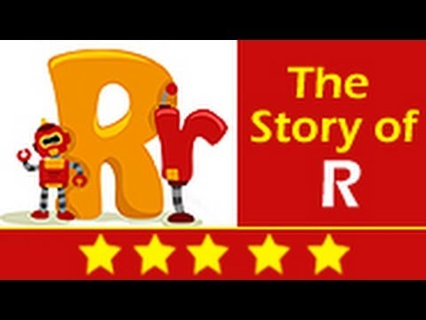 Alphabet Songs - Story Of Letter R for Nursery Kids