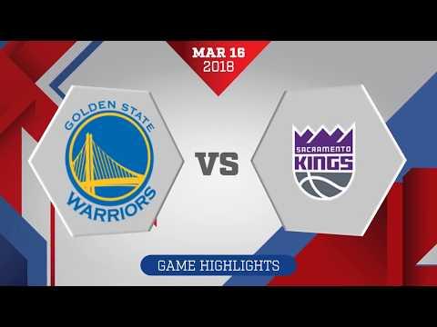 Sacramento Kings vs. Golden State Warriors - March 16, 2018