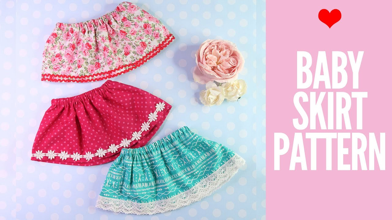 0271a736c9cea Baby Skirt Pattern | Free Tutorial