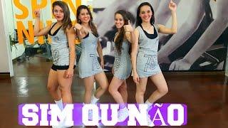 Sim Ou Não - Anitta Feat Maluma   Coreografia CiabyMarinho