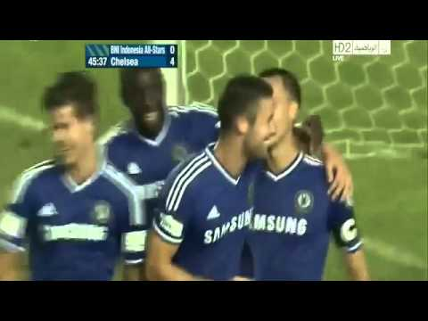 CHELSEA vs Indonesia All Stars (8-1) All Goals and