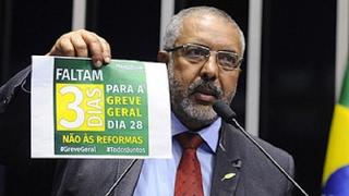Paulo Paim prevê repercussões da mobilização marcada para a próxima sexta-feira