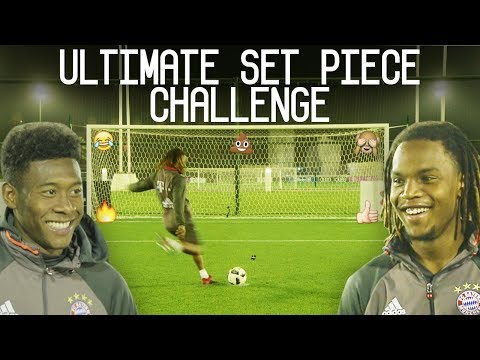Renato Sanches vs Alaba: Ultimate Set Piece Challenge