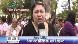 amplia bolsa de trabajo y capacitaciones ofrece el servicio nacional de empleo en Rioverde