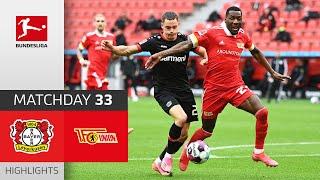 Bayer 04 Leverkusen - Union Berlin  1-1  Highlights  Matchday 33 – Bundesliga 2020/21