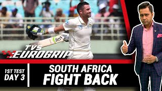 South Africa FIGHT back   'TVS Eurogrip' presents #AakashVani   Cricket Analysis