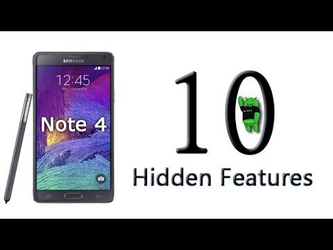 10 Hidden Features of the Galaxy Note 4 You Don