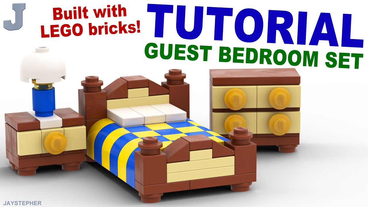 Room 2 Build Bedroom Kids Lego: Lego Guest Bedroom Set [CC]