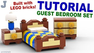 Tutorial - Lego Guest Bedroom Set [cc]