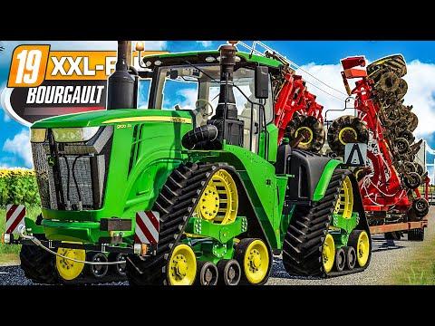 LS19 XXL Farm #113: BOURGAULT DLC: die größten Maschinen der Welt | LANDWIRTSCHAFTS SIMULATOR 19
