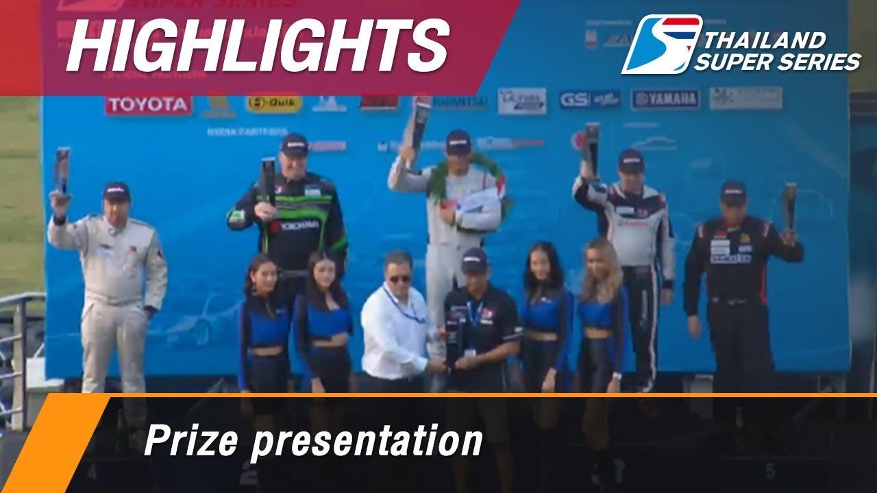 Prize presentation : Chang International Circuit, Thailand