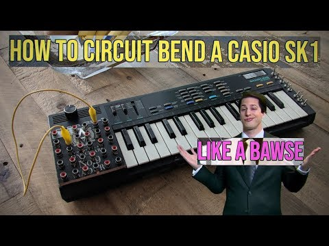 How to Circuit Bend a Casio SK1 or Toy Synth: In-Depth Tutorial!