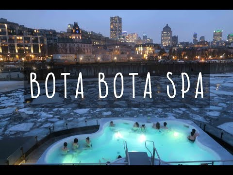 Bota Bota Floating Spa! I'm on a Boat!