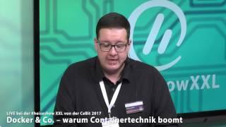 #heiseshowXXL: Docker & Co - warum Containertechnik boomt