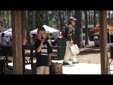 6-Year-Old VeganEvan Speaks & Raps at the 1st Annual Gainesville VegFest