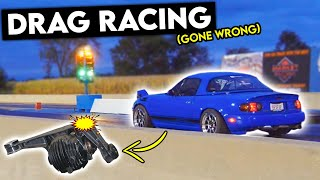 homepage tile video photo for How 388WHP DESTROYED My Miata's Differential... (Drag Racing CARNAGE)