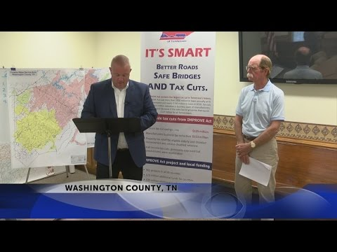 Transportation Coalition official in area discussing IMPROVE Act impact on Wash. Co.