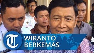 VIDEO: Keluar Sementara dari RSPAD, Wiranto Kemasi Barang-barangnya di Kemenko Polhukam