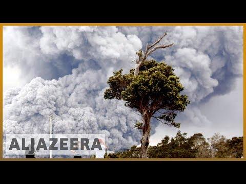 🌋 Hawaii Kilauea volcano: Ash clouds prompt 'red alert' for aircrafts | Al Jazeera English