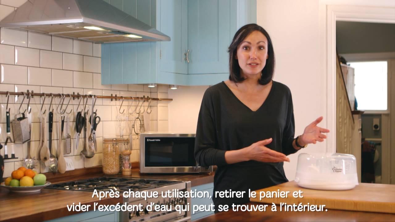 Comment nettoyer le Stérilisateur Micro-ondes. - YouTube - Comment Nettoyer Un Micro Onde