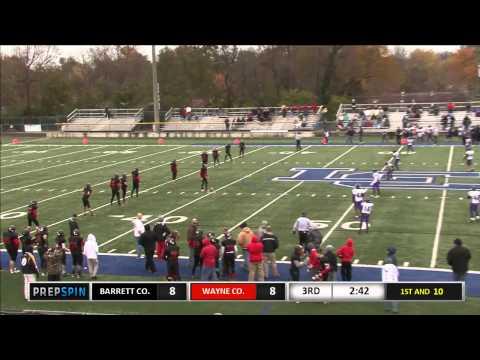 KYMSFA 8th Grade Div 2 State Semi Finals - Wayne vs Barrett