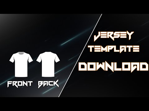Jersey Template Download (Photoshop)
