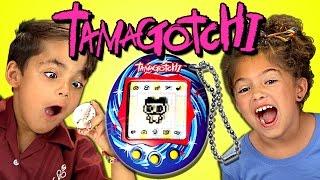 Kids React To Tamagotchi Retro Toys