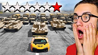 I TRIED TO ESCAPE A *6* STAR WANTED LEVEL in GTA 5!