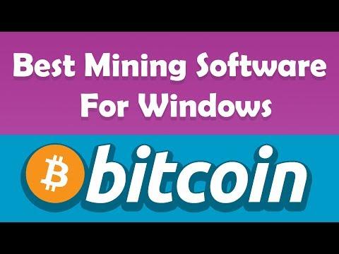 Best Free Windows Bitcoin Mining Software For Windows | 2018
