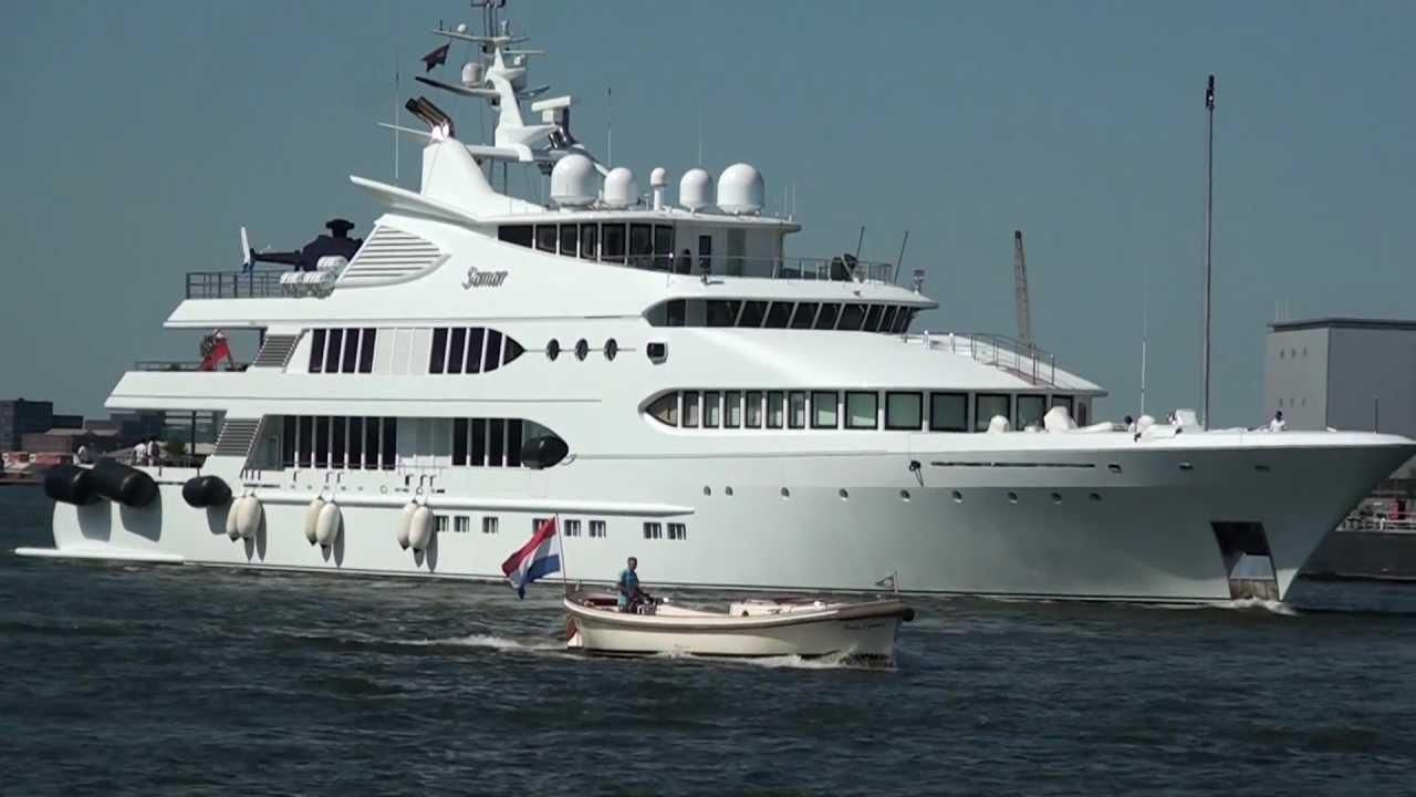 Motor Yacht: Luxe Motor Yacht Samar Te Amsterdam 26 Mei 2012