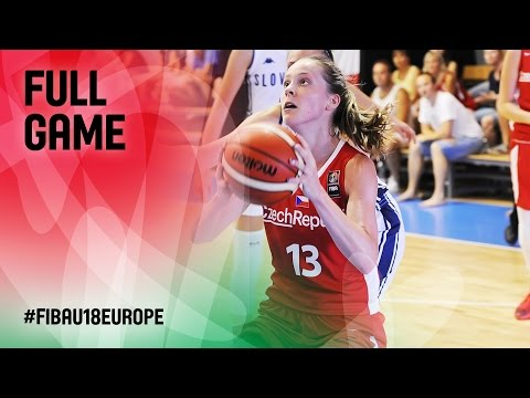 Slovak Republic v Czech Republic - Full Game - FIBA U18 Women's European Championship 2016