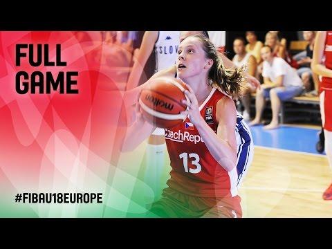 Slovak Republic v Czech Republic - Full Game - FIBA U18 Women