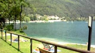 Camping al lago - Lago di Ledro -  Valle di Ledro - Trentino - Ledro Lake
